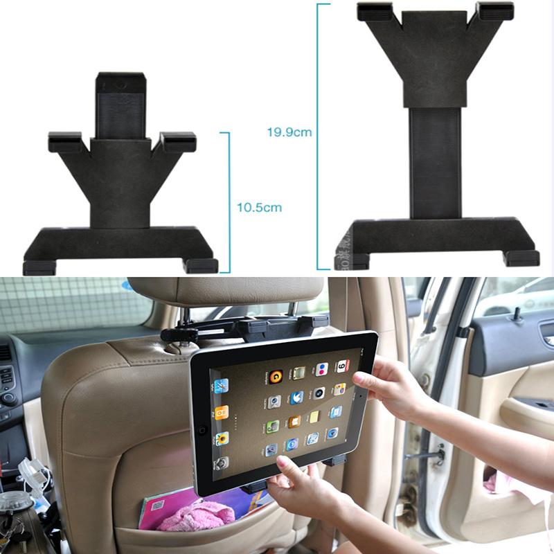 Universal Car Back Seat Headrest Mount Holder tablet car accessories For GPS DVD Google Nexus 7/10 iPad 1/2/3/4/Mini(China (Mainland))