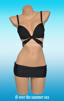 Crazy promotion beach bikini sexy bandage push up bandeau swimwear women swimsuit the bathing suit beachwear Freeshipping