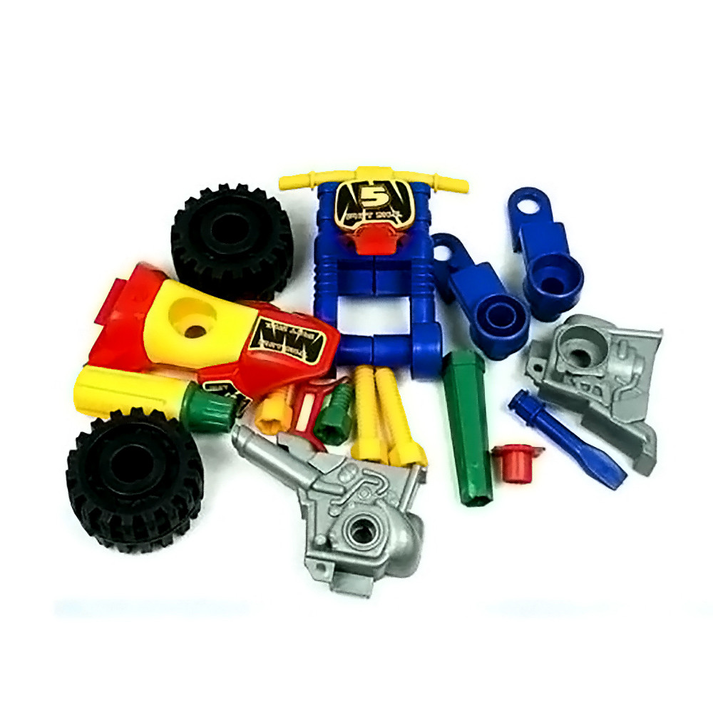 2017 new fashion disassembly motorcycle design educational toys for children kids mini construction vehicle birthday gift