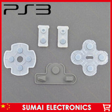 100set Conductive rubber pad only for PS3 New Version Controller HOME key pad contacts is single contacts