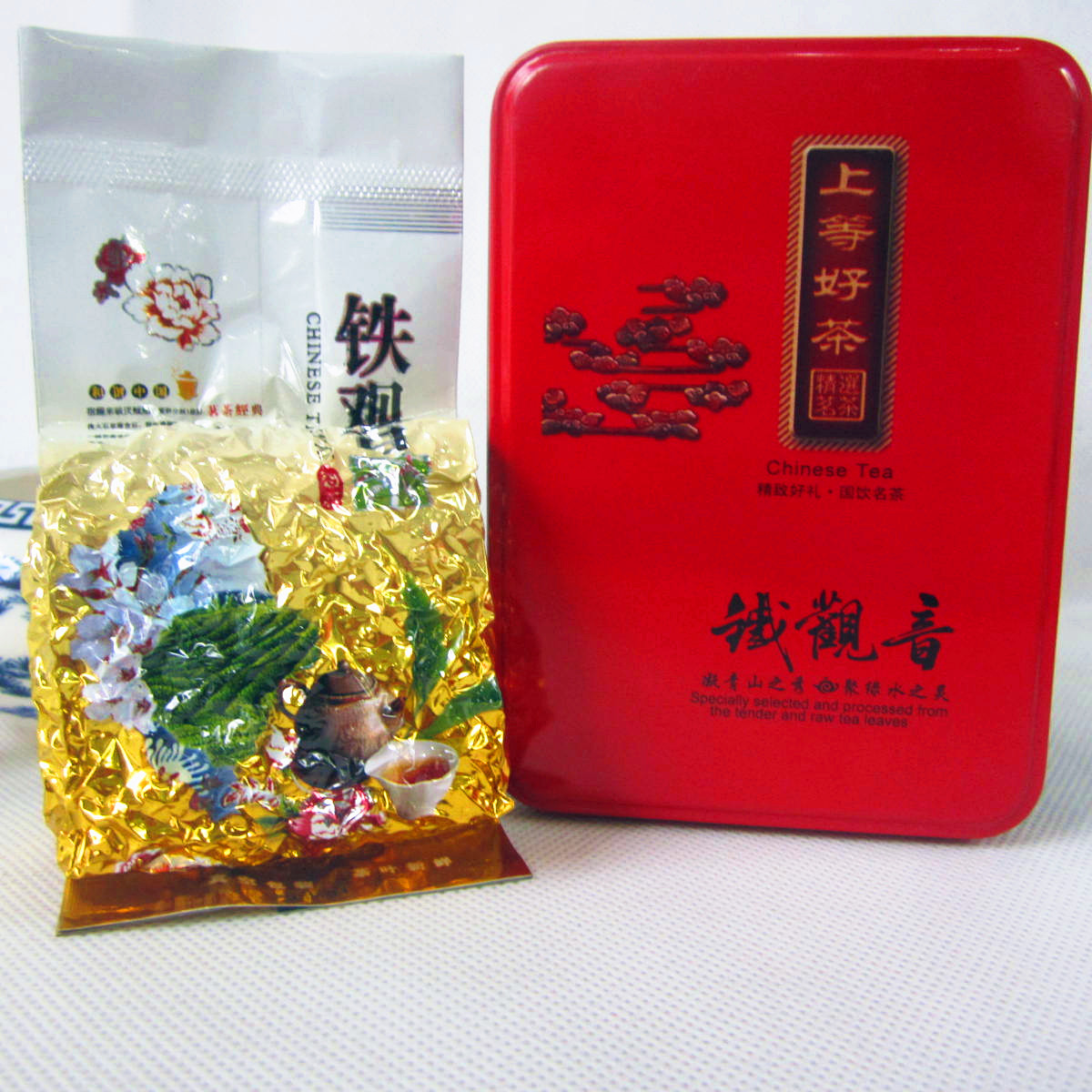 2015 Anxi spring Tieguanyin taste heavy resistant foam type long tin containing 50 grams of fine taste<br><br>Aliexpress