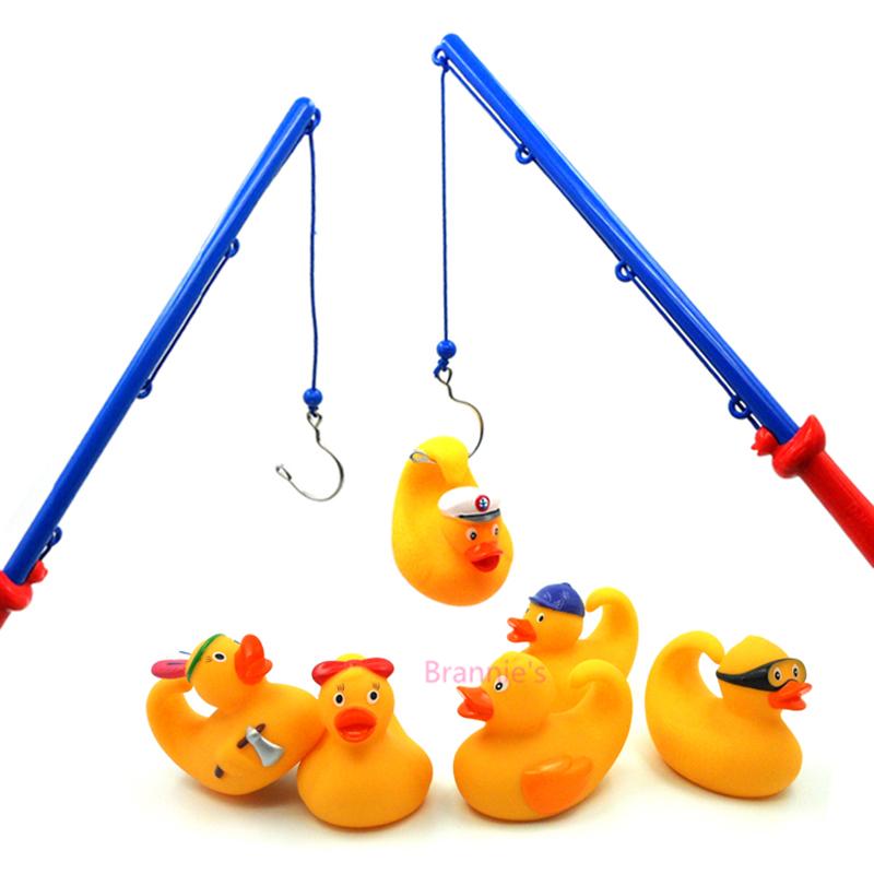 Kit Salle De Bain Bebe : Djeco canards de pêche Bobbing canards de pêche jeu – jouets de bain …