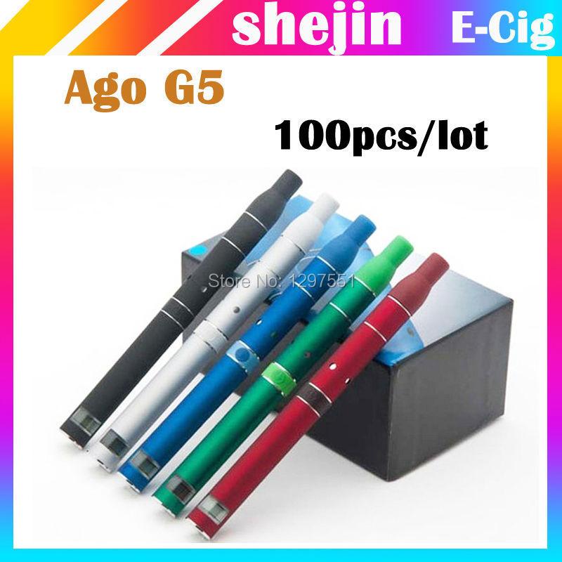100pcs/lot G5 e 650mah LCD G5 e cig ago G5 g5 g5 ago g5