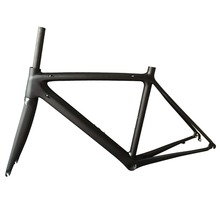 Buy 2017 Carbon Road Bike Frame Chinese Factory 500/530/550mm Super Light 780g Carbon Road Frame+Fork+Headset Carbon Bicycle Frame for $331.20 in AliExpress store