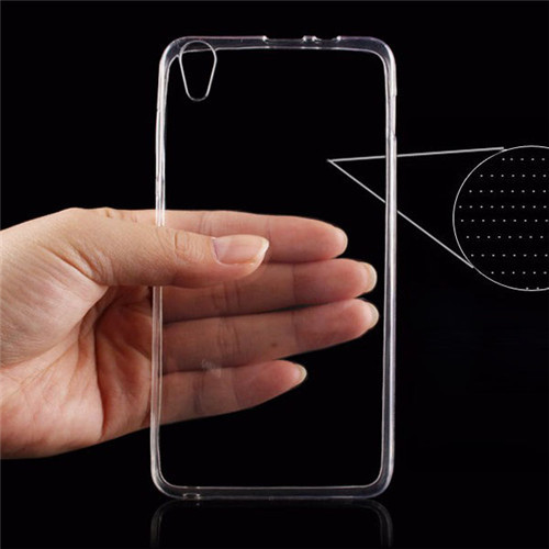 mobile phone bag 0.3mm Ultra Thin Clear Transparent Soft TPU cover for Lenovo s850 case Protective Phone Case For Lenovo s850(China (Mainland))