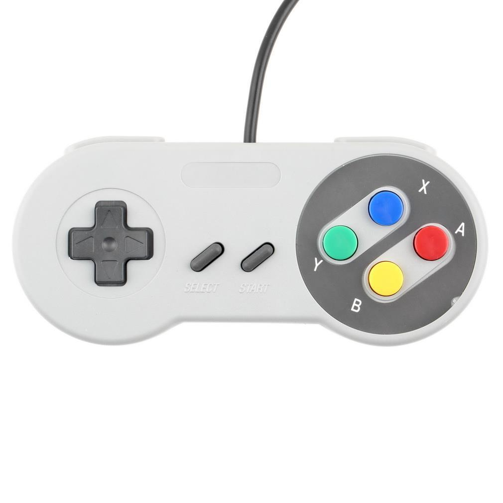 image for 1pcs X New Retro ClassicUSB Controller PC Controllers For Super Ninten
