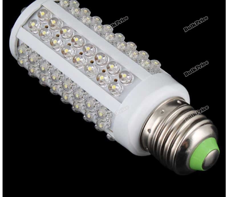 BulkPrice Shop 108 LED Corn Light 6.48W E27 LED SMD Screw Bulb Pure White Lamp Home Night 220V(China (Mainland))