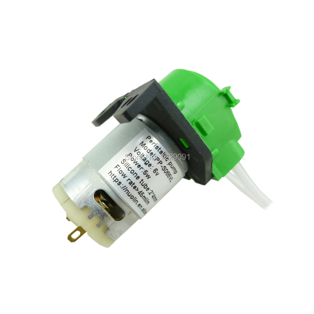 >4ml/min best micro electric 6v peristaltic metering pump manufacturer dc 5w(China (Mainland))