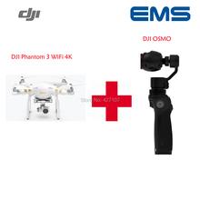 Fast Shipping 100% Original DJI Phantom 3 4K For WIFI And DJI OSMO Via EMS