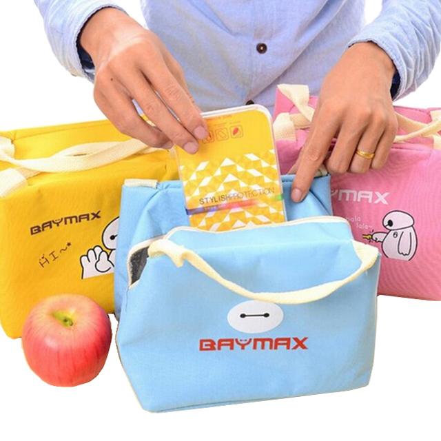 2016 новинка BAYMAX обед сумки кулер изоляцией обед мешок для детей женщин мужчин ...