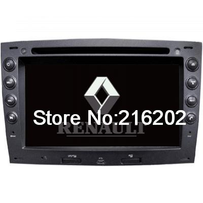 Custom Car DVD Player GPS Radio System with 6.95& 39 HD Touch Screen for Renault Megane IZSHE7230(China (Mainland))