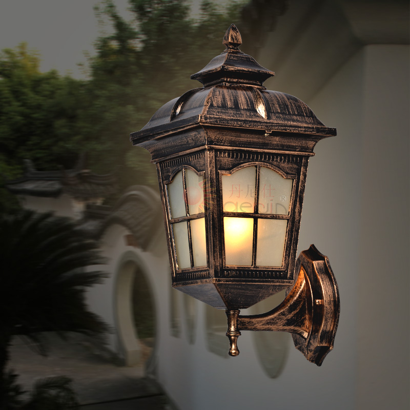 Contemporary Outside Wall Lamps : Free-Shipping-Outdoor-wall-lamp-fashion-classic-wall-lamps-waterproof-balcony-wall-modern ...