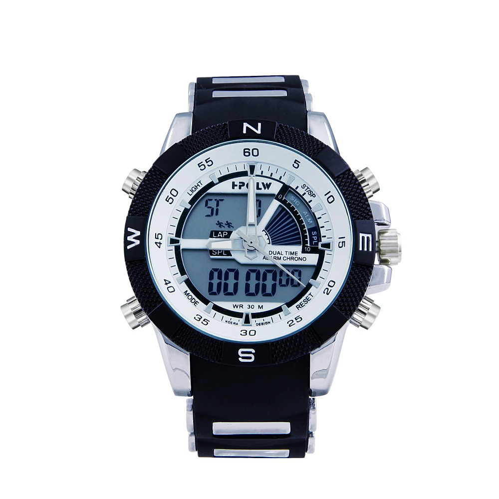 New 2015 Men Sports Watches 30M Waterproof Fashion Casual ...