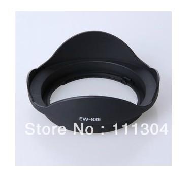 DHL free shipping+tracking number 100pcs/lot Lens Hood bayonet hood EW 83E EW-83E Lens Hood For Canon 10-22 17-35 17-40(China (Mainland))