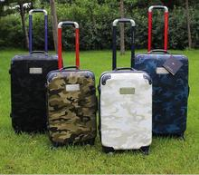 "21"" 25"" 29"" CLOSEOUT! 45% Off Hardside Carry-on Spinner Suitcase rolling luggage camouflage(China (Mainland))"