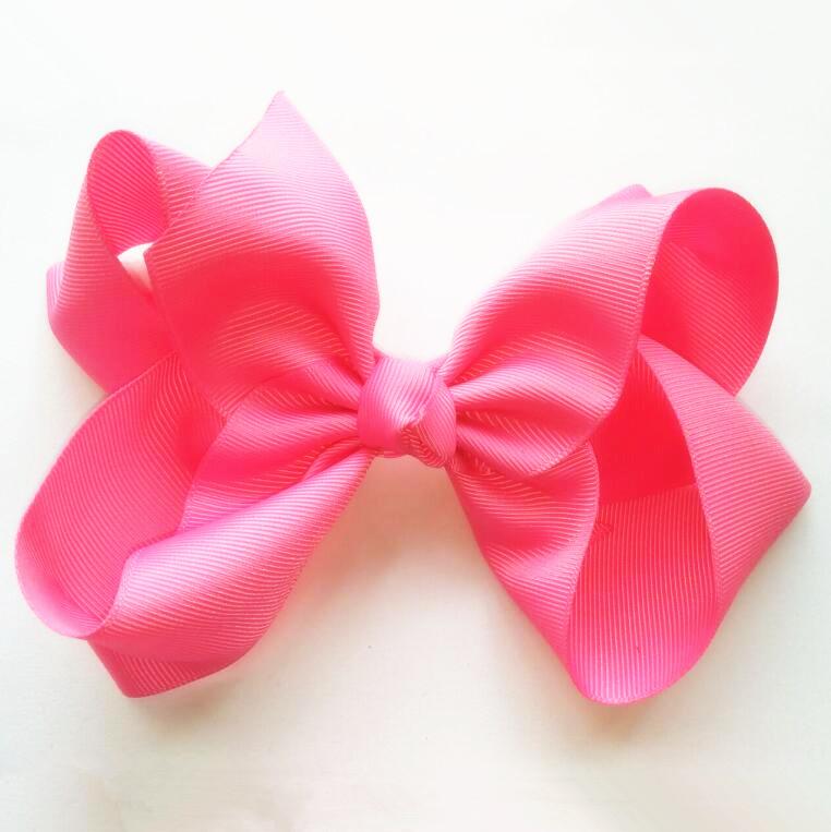 "Free Shipping 200pcs 6.5"" Large Hair Bows Girls 5"" Twisted Boutique Bows Big Pageant Princess(China (Mainland))"