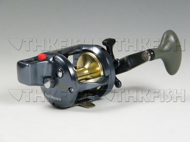 Promotion! 1Pcs Pack 4+1BB Yoshikawa Conventional Reel Trolling drum reel, boat fishing Reel, with counter