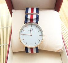Daniel Wellington Brand Watches rose DW Watch Women Men Nylon Leather Strap Military Sport Quartz Wristwatch