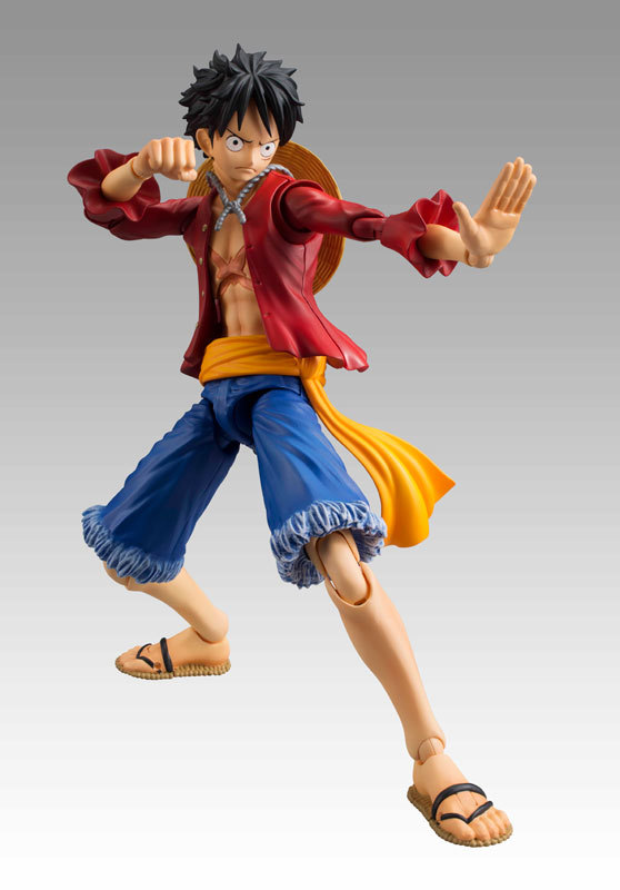 Anime One Piece luffy Monkey D 13 joint Movable series Collectible PVC Action Figure Toy Children's toy 18cm(China (Mainland))