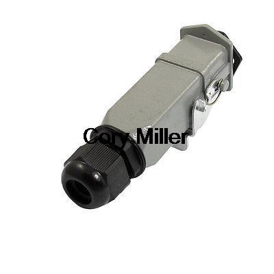 PG11 Cable Glands Dark Gray Metal Cover for Entry Connector<br><br>Aliexpress