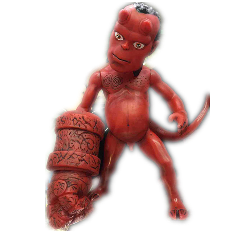 Movie Figure Anung Un Rama PVC Action Figure Hellboy Child Edition Collection Model Toys for Children 20 cm RETAIL BOX JK-0147(China (Mainland))