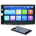 7 HD Car Radio Player 2 Din Touch Screen Bluetooth Stereo Radio FM MP3 MP4 MP5