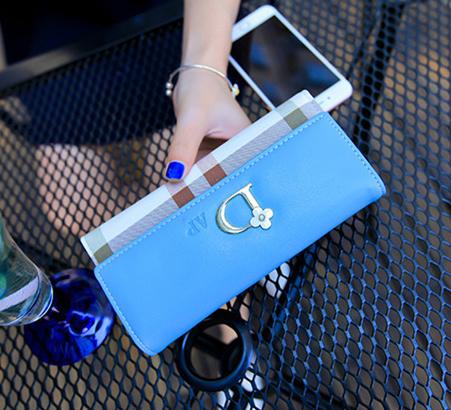 Women Long Wallet Fashion Famous Brand 2015 PU Leather Fashion Handbags Hasp Clutch Card Holders Zipper Pocket Free shipping<br><br>Aliexpress