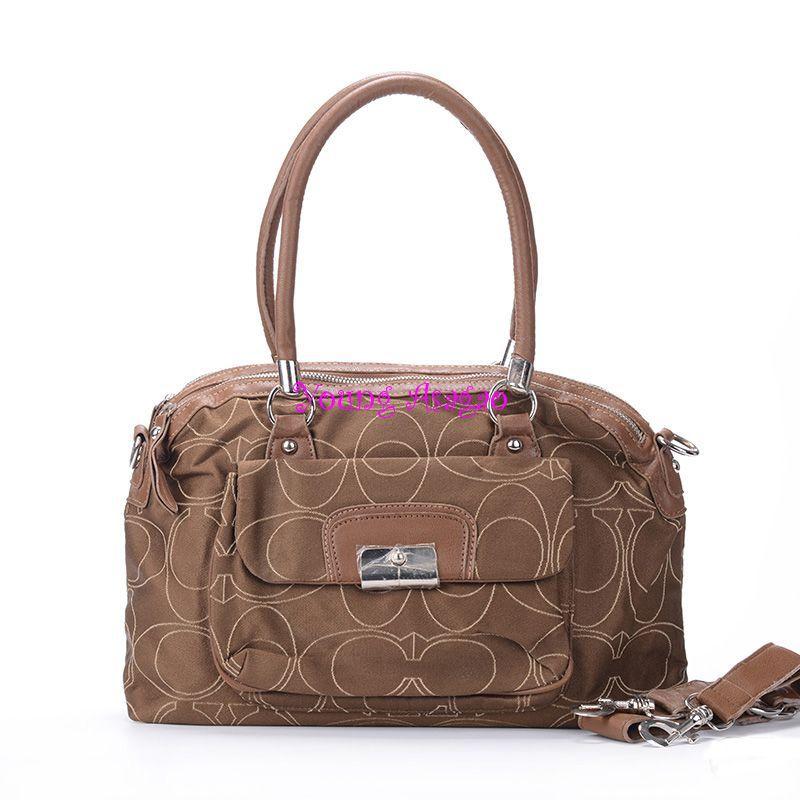 AMZ $60 ONLY! Value Spree AFP 11City Logo Black Hobo Handbags bag free shipping(China (Mainland))