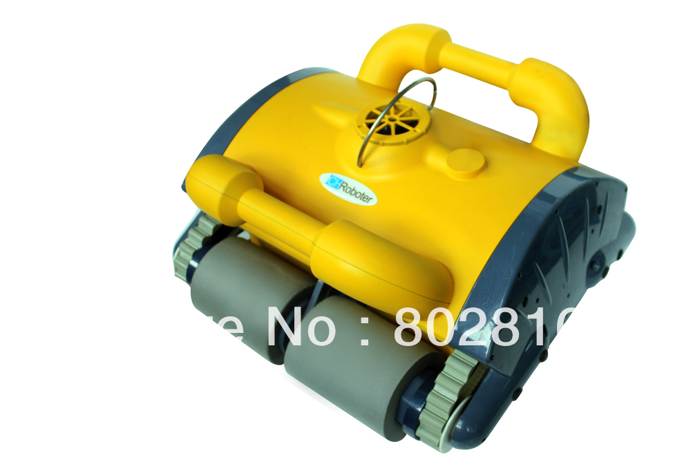2013 Top Selling Newest Design High Quality China Original Robot Pool Cleaner,Wall Climbing+Remote Controller+15m Cable(China (Mainland))