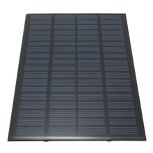 High quality 18V 2.5W Polycrystalline Stored Energy Power Solar Panel Module System Solar Cells Charger 19.4x12x0.3cm(China (Mainland))