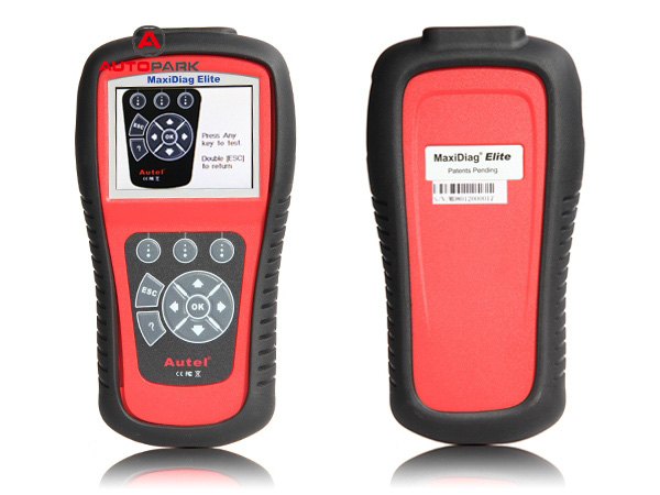 Autel MaxiDiag Elite MD802 On-Board Diagnostics OBDII Scan Tool Auto Scanner Code Reader 4 System for Cars(China (Mainland))