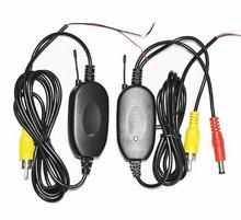 Parking Car backup RCA Video 2.4 Ghz transmitter Receiver kit for Car Wireless rear camera reverse