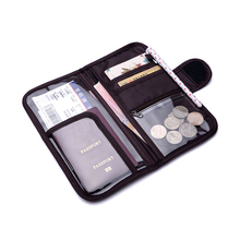 2016 Cheap Credit Card Holder High Quality Brand Passport Bags Travel Wallet Organizer Document Cases Luxury Coin Money Purses(China (Mainland))