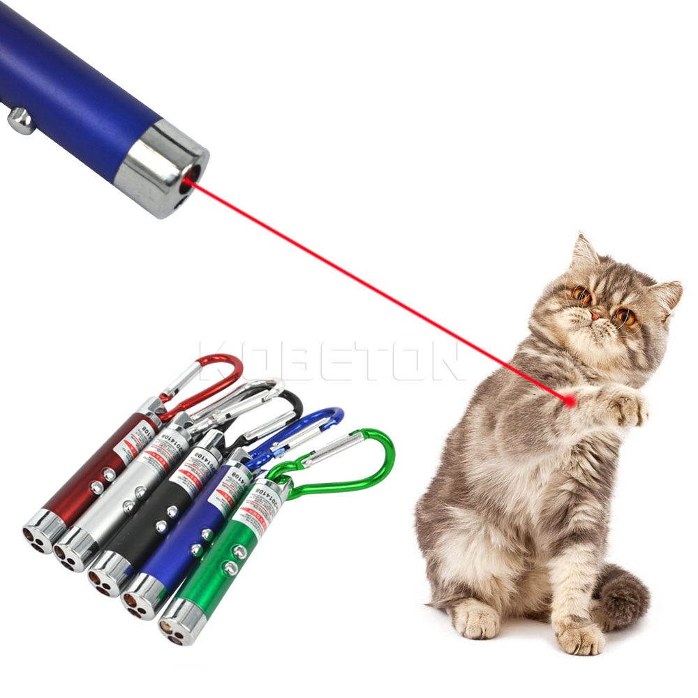 Pointeur Laser Chat 3 en 1 Mini Pointeur Laser
