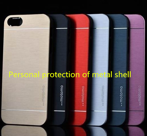 Metal wire drawing case for iphone 4s,Metal and high quality protecte of phone,The latest popular phone shell,1pc free shipping(China (Mainland))