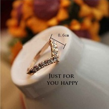 Fashion Love Hot Sell Elegant 18K Gold Plated rings Wedding  Ring Made with Genuine Austrian Crystals Full Sizes(China (Mainland))