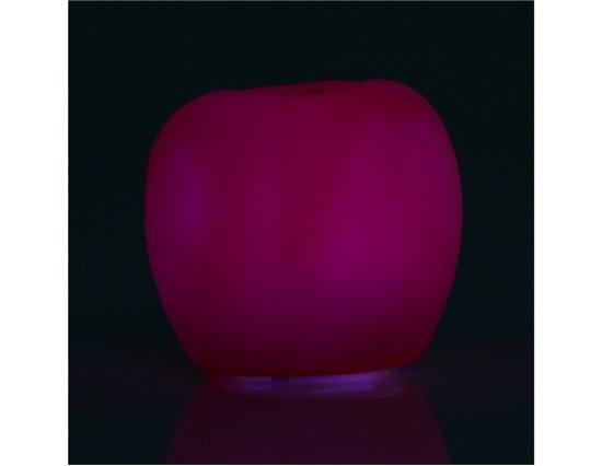 Yakutia Stylish case for apple Shaped Colorful LED Light (Purple)(China (Mainland))