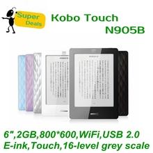 ( кобо сенсорный N905B + кожаный чехол + MP3 ) 6 » 2 ГБ WiFi Eink для чтения электронных книг, 6 дюймов мини Wi-Fi поддержка русский E-ink электронные книги читалка
