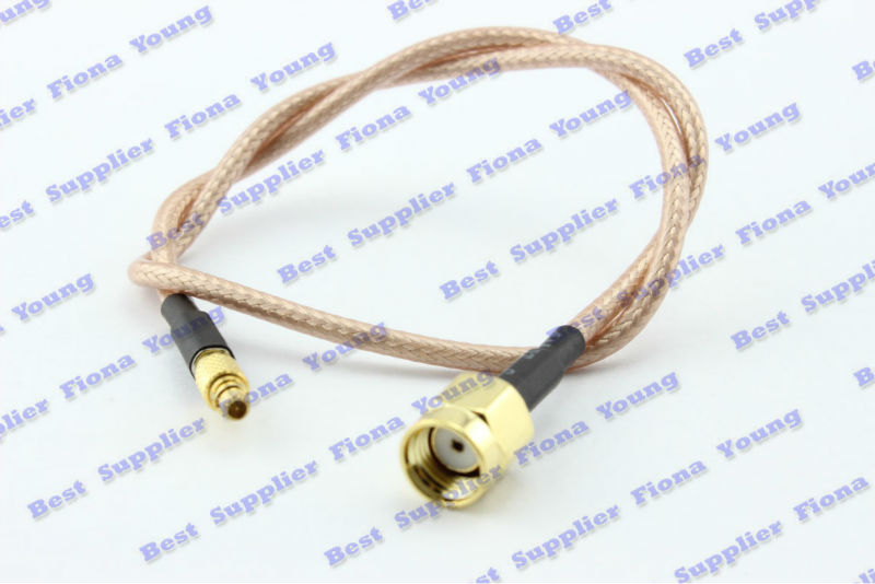 50 pcs\lot 30cm RG316 Cable RPSMA Male Plug (Female Pin) to MMCX Male Plug (Male Pin) Bulkhead Connector  Cable Free Shipping<br><br>Aliexpress