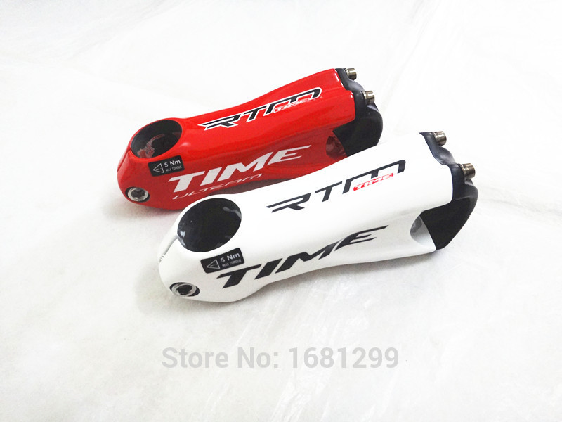 2015 Newest Mountain bike full carbon bicycle stem Road carbon stem 31.8*80 90 100 110/120mm MTB parts white red color Free ship(China (Mainland))
