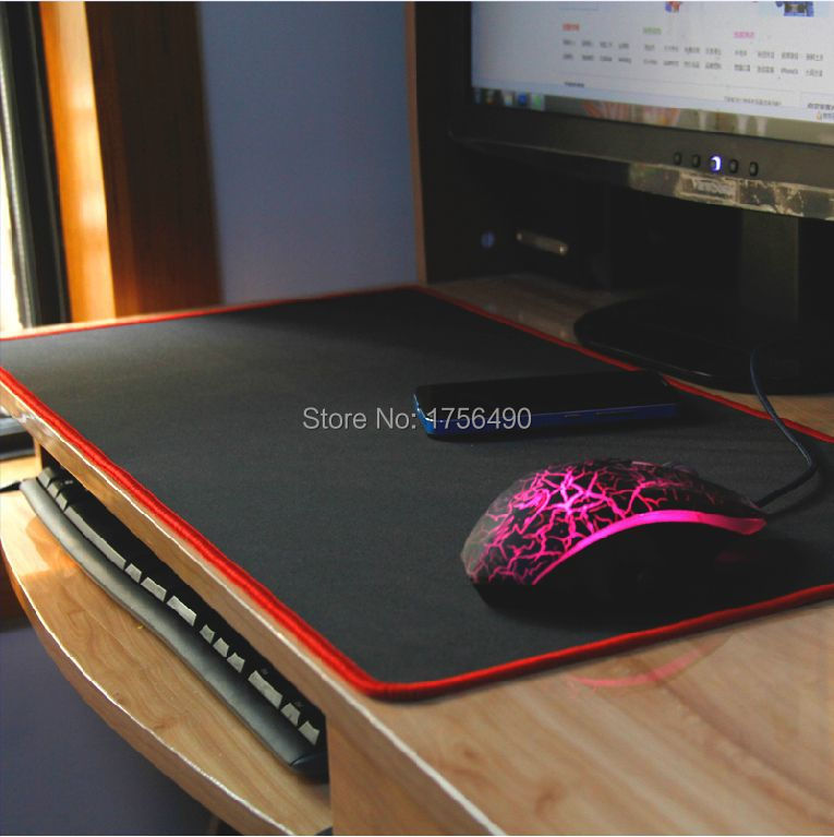 2015 NEW Gaming mouse pad thicker oversized desk keyboard Large cloth mats(China (Mainland))