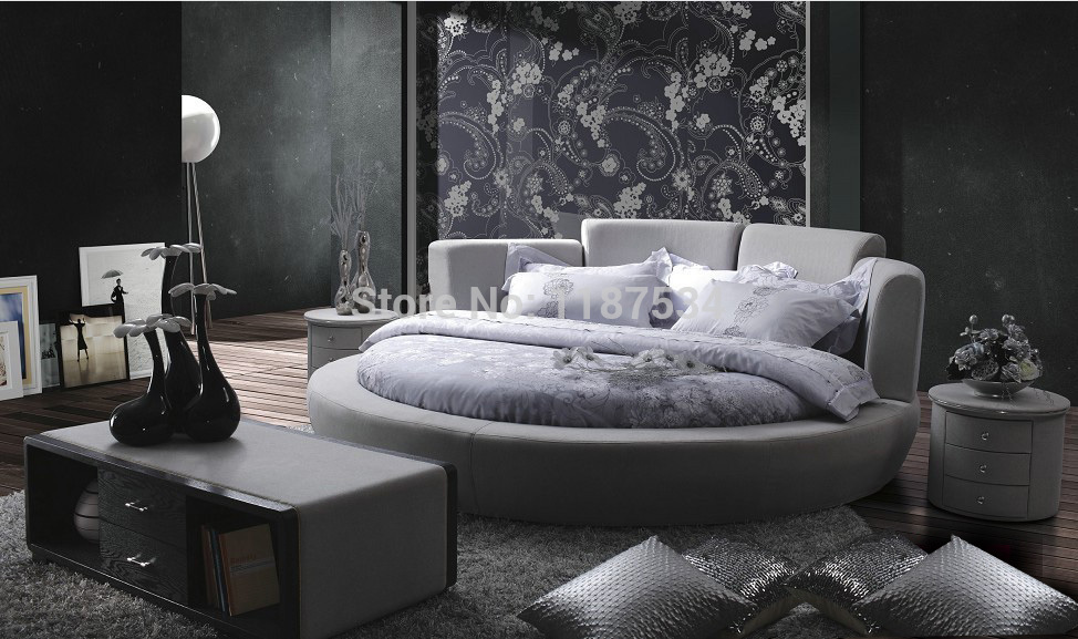 Popular round king size beds buy cheap round king size for Bedroom designs king size bed