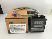 Dual Digital RKC PID Temperature Controller REX-C100 with K thermocouple, Relay Output(China (Mainland))