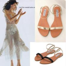 Women Gladiator Sandals 2015 Summer Peep Toe Flats Fashion Casual Shoes Woman Beach Shoes Ladies Flip-flops Zapatos Mujer Verano