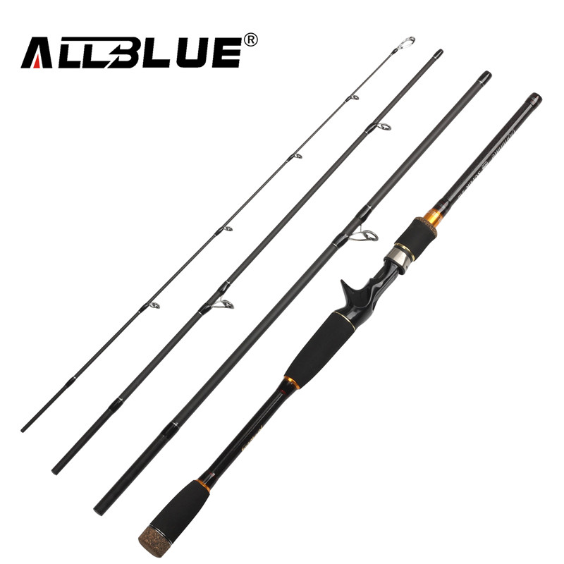 ALLBLUE 2017 New Fishing Rod Spinning Casting Rod 99% Carbon Fiber Telescopic 2.1M 2.4M 2.7M Fishing Travel Rod Tackle peche(China (Mainland))