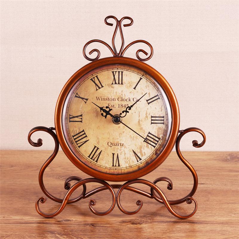 Compra relojes de hierro forjado online al por mayor de for Reloj de pared vintage 60cm