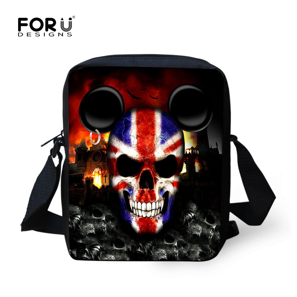 New Mini Vintage Handbag Men Classic Hiking Canvas Messenger Bags Skull Outdoor Travel Sports Bag Small Shoulder Casual-bags<br><br>Aliexpress