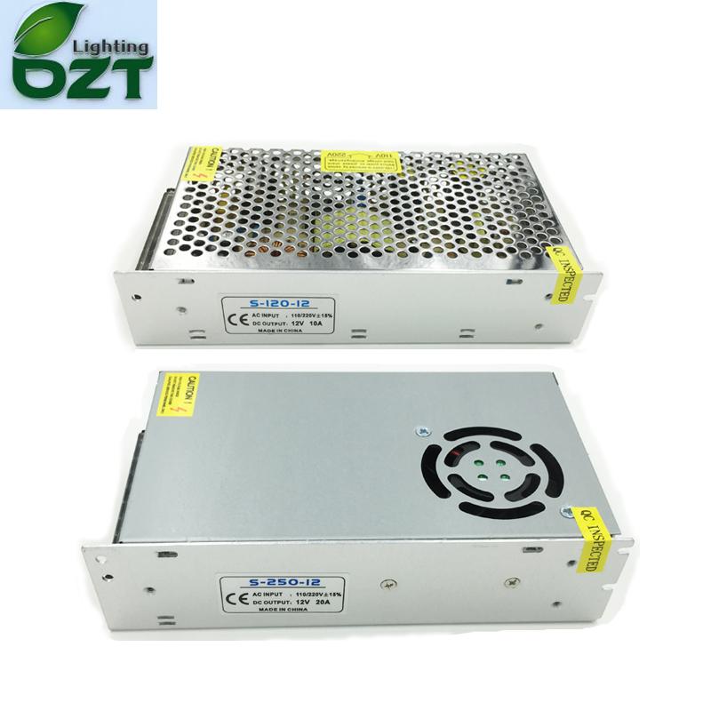 AC100-240V To DC5V 12V 24V Power Supply Adapter Transformer 5A 6A 8A 10A 15A 20A 30A 40A For LED Strip Led Tape Home Decoration(China (Mainland))