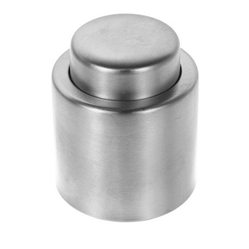 New !! Best Price High Quality Silver Elegant Stainless Steel Vacuum Wine Stopper Saver Preserver Pump Sealed Sealer(China (Mainland))