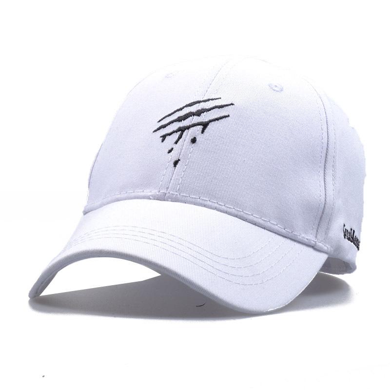 5pcs free shipping2017A-225 new style Scratch  embroidery leisure cap men women  baseball hat wholesale